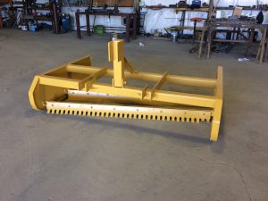 Road Boss Grader Utility Model front view